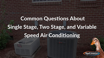 variable stage air conditioning