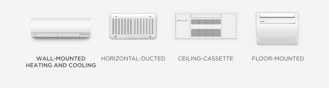 Mitsubishi Cooling & Heating Products New Construction Solutions