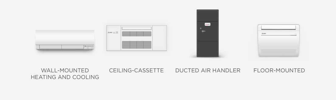 Mitsubishi Cooling & Heating Products Replacement Solutions