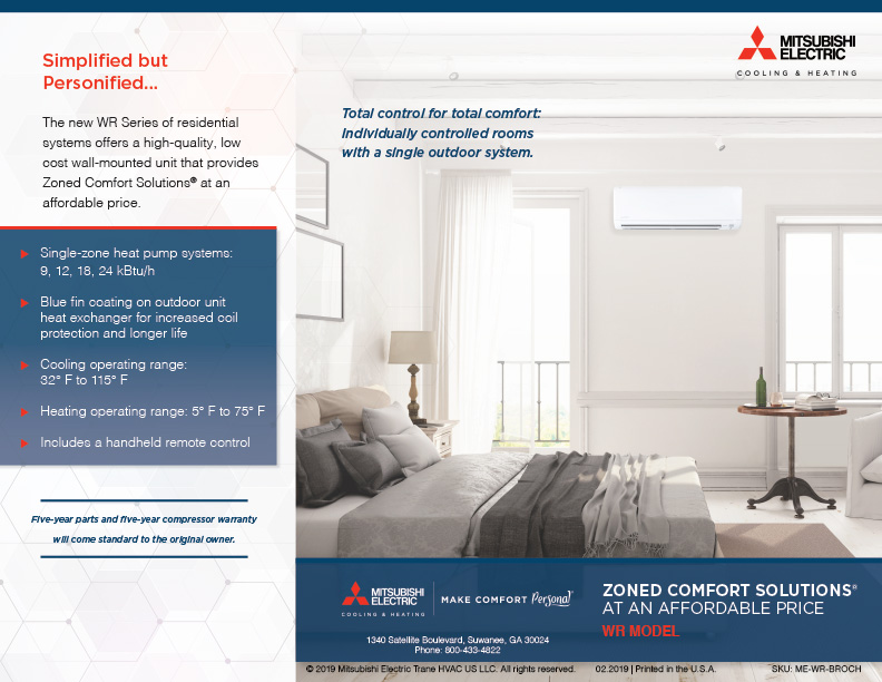 Mitsubishi Cooling & Heating Systems Gives Total Comfort