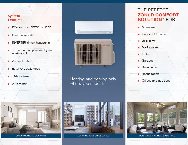 Mitsubishi Cooling & Heating Products