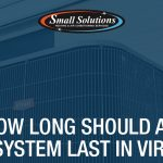 how long should an hvac system last in virginia