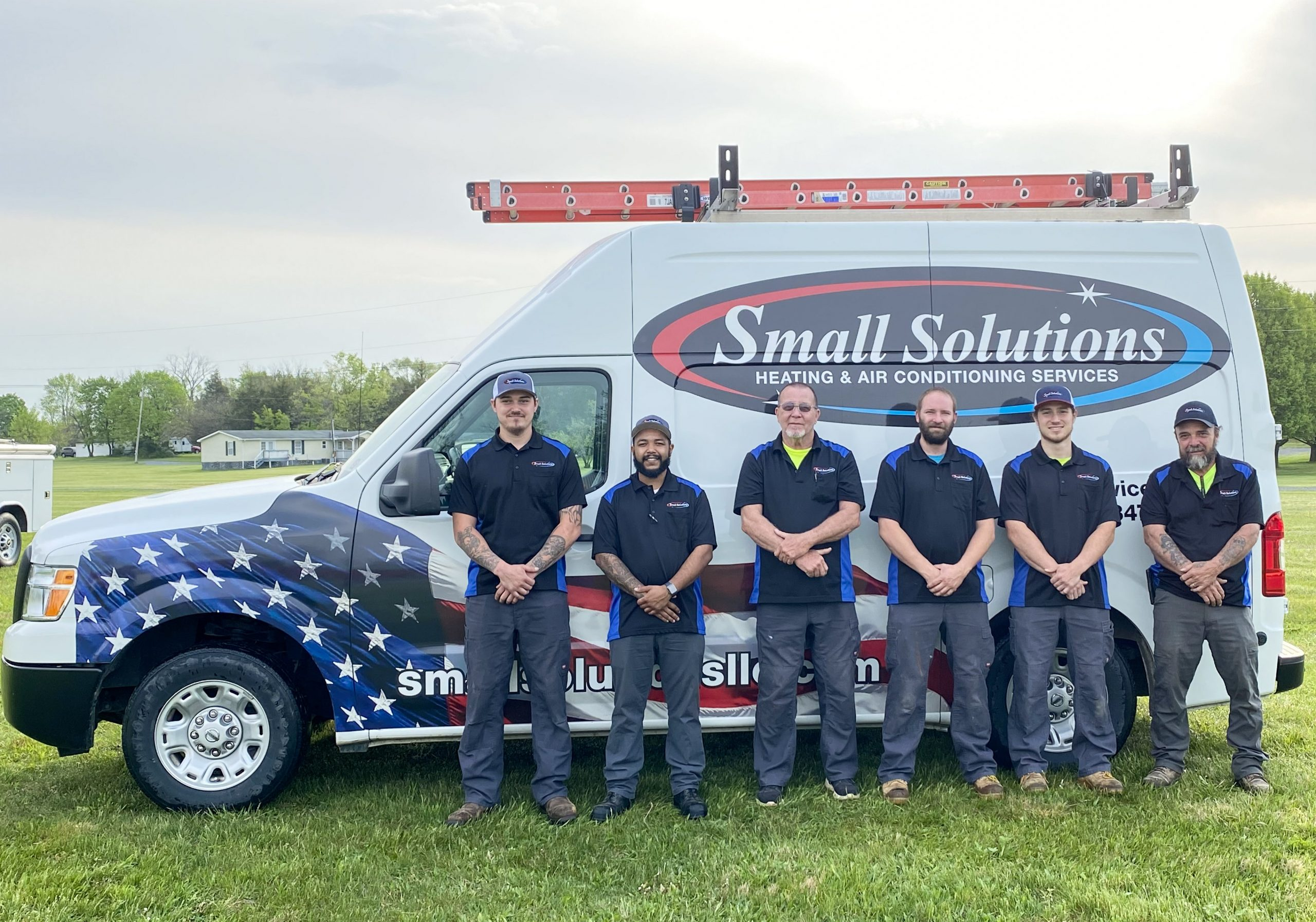 HVAC Services Install Crew Small Solutions Northern Virginia